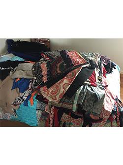 Clothes Before Kon Mari