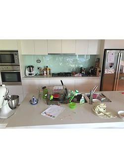Kitchen Before Declutter